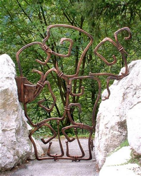 blacksmith elegant lakeside trees art panels by blacksmith best 25 metal garden gates ideas on pinterest metal