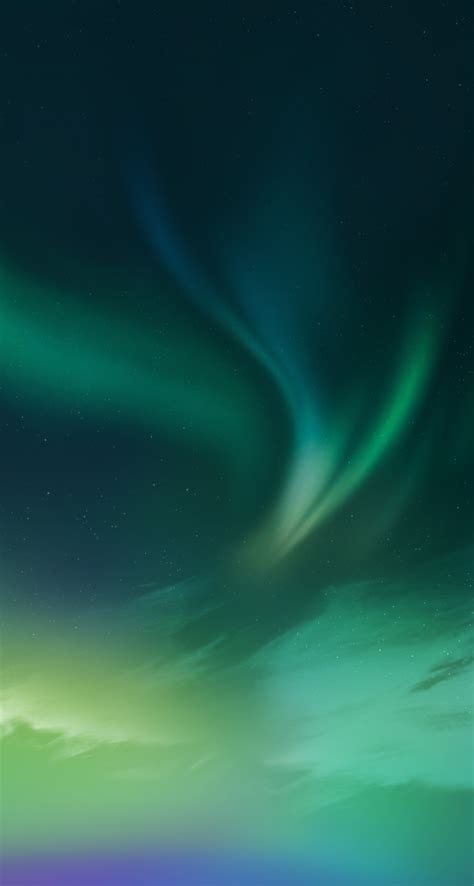 green northern lights iphone 5 wallpaper by anxanx on