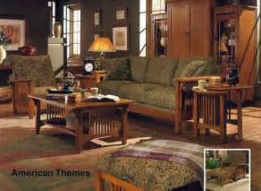 Mission Style Living Room Chairs Stunning Solid Oak Living Room Set American Themes Collection By Fairmont Designs