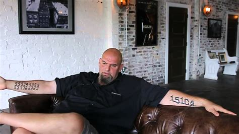 john fetterman tattoos braddock mayor fetterman challenges he still faces