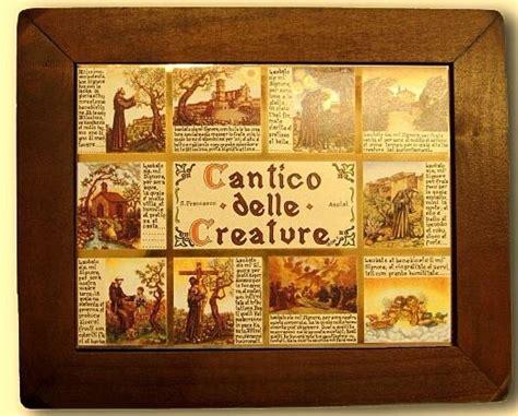 testo cantico delle creature cantico delle creature da parete articoli religiosi