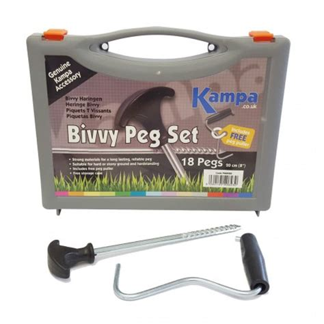 Rock Pegs For Awnings by Ka Bivvy Rock Peg Set With Free Peg Puller Caravan