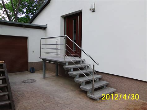 treppe hauseingang au 223 entreppen f 252 r den hauseingang baustoffe st 252