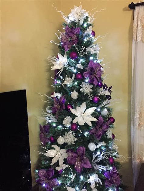 pictures of decorated purple christmas trees top purple trees decorations celebration all about