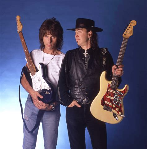 jeff beck  stevie ray vaughan   rolling stone