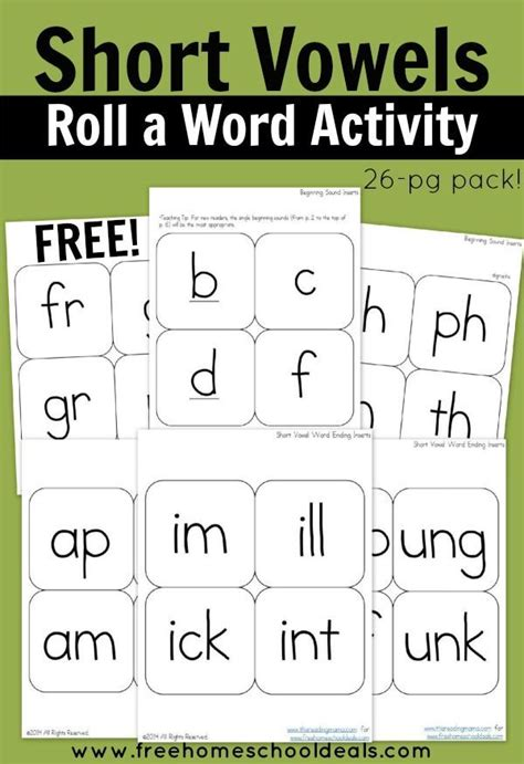 4 Letter Words Vowels Only 4469 best images about homeschooling ideas and resources