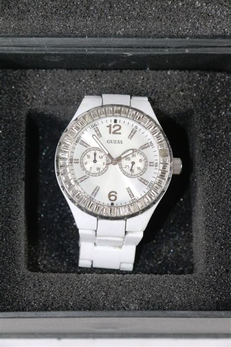 Guess Date guess day date wrist