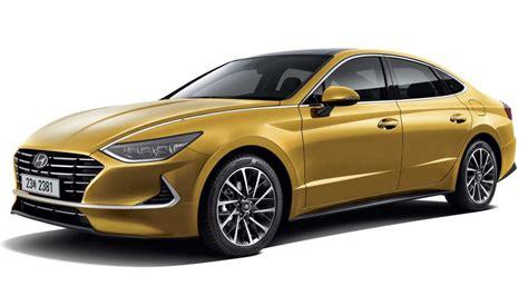 2020 Hyundai Sonata by 2020 Hyundai Sonata 4 Door Coupe Officially Unveiled