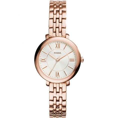 Fossil Kulit Rosegold fossil gold plated jacqueline watches from francis gaye jewellers uk