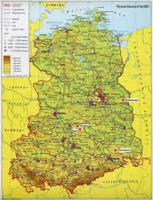 Map Of East Germany by Trans European Rapid Response Operatives