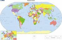Mapa Mundi Politico