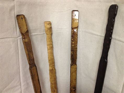 Handmade Hiking Sticks - custom flat wooden rustic hiking sticks by the rustic