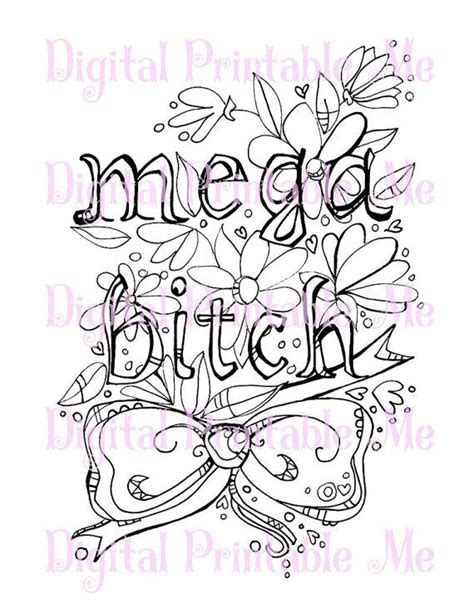 coloring pages by words 71 best swear word coloring pages images on pinterest