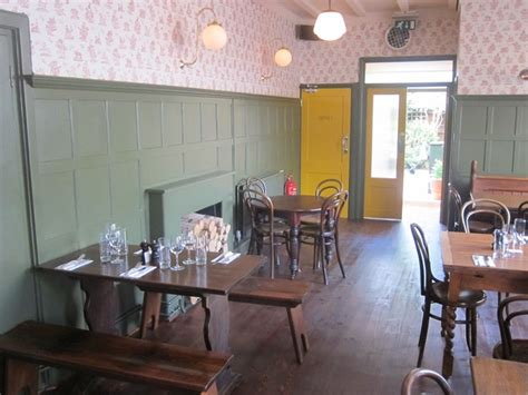 chiswick dining rooms devonshire arms restaurant review 2011 july cuisine food guide andy hayler