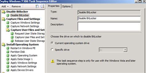 mdt tutorial windows 10 usmt 4 0 hardlink and bitlocker in sccm osd ctglobal