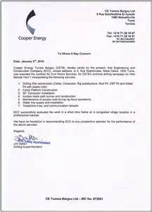 Certification Letter Completion Work Experience Certificate Format