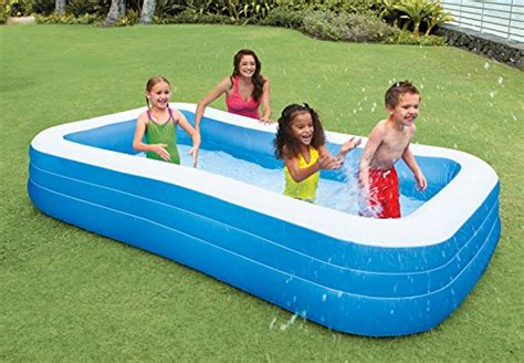 amazon pool intex swim center family inflatable pool 120 quot x 72 quot x 22