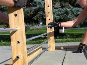 Galvanized Handrail How To Create A Modern Style Sheet Metal Fence How Tos Diy