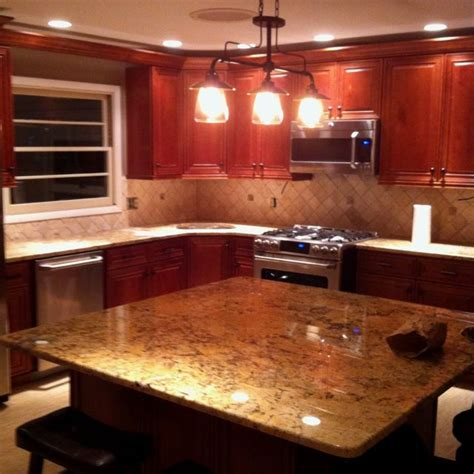 solarius granite new kitchen solarius granite for the home