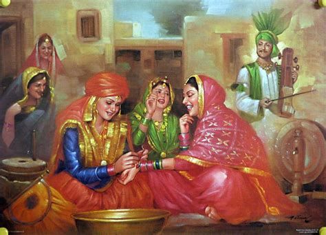 biography of indian artist old punjabi culture preparations for punjabi marriage