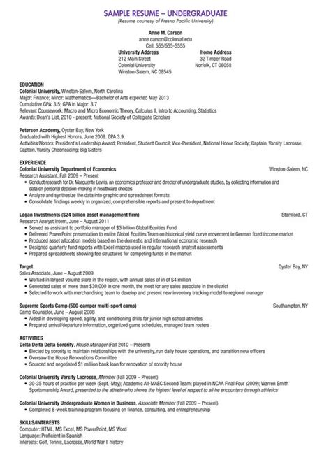 scholarship resume template college scholarship resume template college scholarship