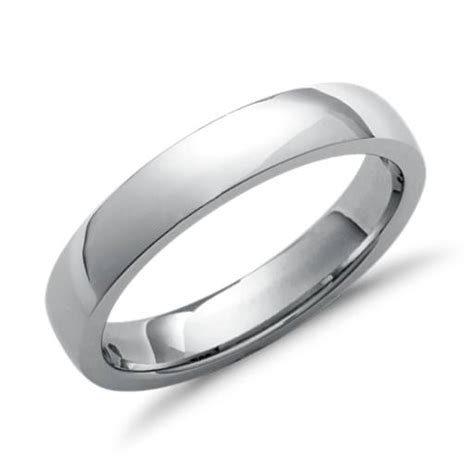 comfort fit ring comfort fit wedding ring in platinum 5mm blue nile