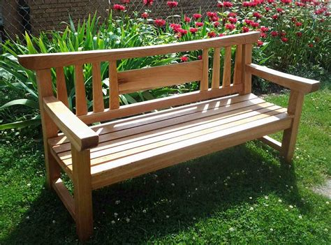wooden bench for garden first light woodworking unplugged japanese garden bench