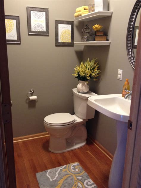 gray and yellow bathroom home decor grey and