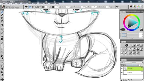 sketchbook pro vs corel painter how to sketch animals with corel painter