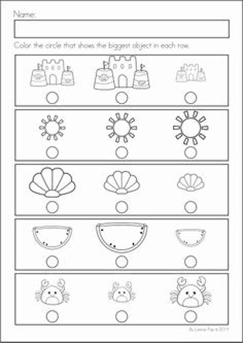 large concept pre k worksheet kindergarten readiness