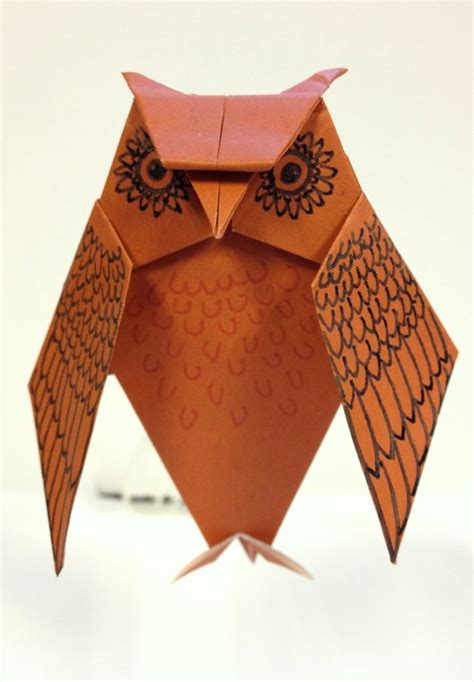 How To Make A Paper Owl Easy - origami origami easy origami owl how to make
