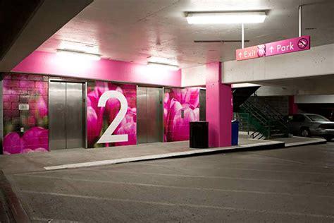 Pavilion Parking Garage by Town Pavilion Parking Garage Wayfinding On Behance