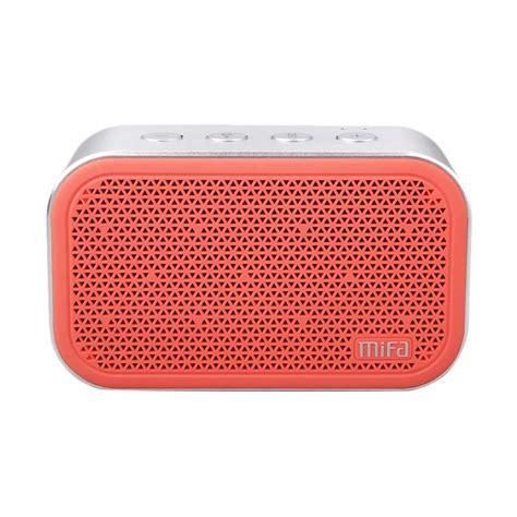 Xiaomi Mifa M1 Bluetooh Portable Speaker Cube With Microsd Slot jual xiaomi mifa m1 bluetooh portable speaker cube with microsd slot merah harga