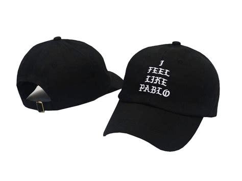Topi Baseball I Feel Like Pablo 18 kanye west yeezy yeezus brand i feel like pablo printed