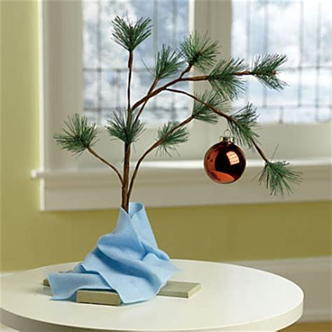 musical charlie brown christmas tree contemporary