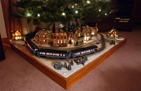 german train set models lionel train christmas tree