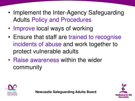 vulnerable adults protection policy template ppt safeguarding adults community and voluntary briefing