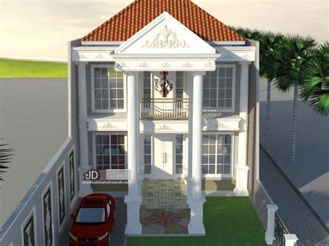 desain rumah eropa klasik di palembang bapak yudi purna nugraha jasa desain rumah murah