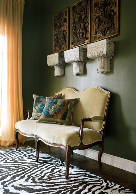 Olive Green Interior Design by Inspiring Spaces Ah L
