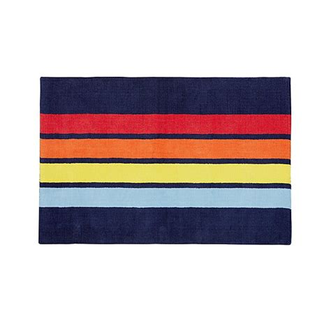 colorful striped rug colorful striped rug the land of nod