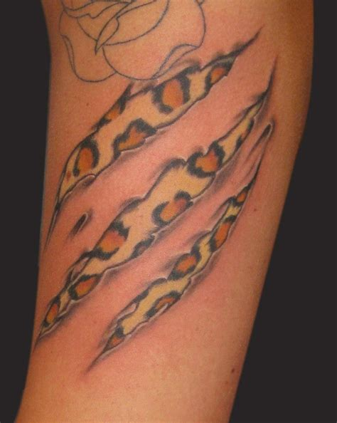 scratch tattoo designs cheetah scratch pictures to pin on