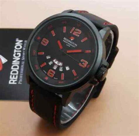 Reddington Original Pria Kulit Merah jam tangan reddington original tali kulit 0901l