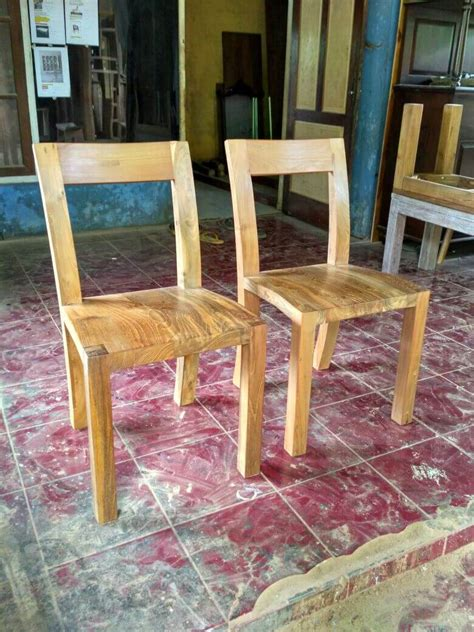 Kursi Kuliah Bahan Kayu mebel kayu jati bekas recycle model minimalis yang ramah