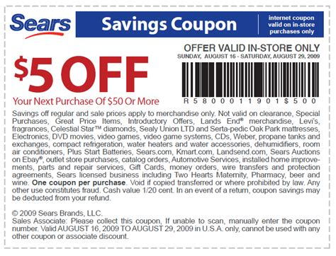 printable sears outlet coupons free printable coupons sears coupons