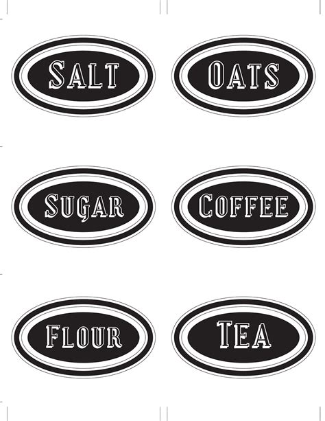 This Designer Cooks Free Printable Canister Labels | this designer cooks free printable canister labels