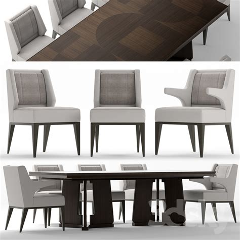 baker table and chairs 3d models table chair table and chairs baker dining chair