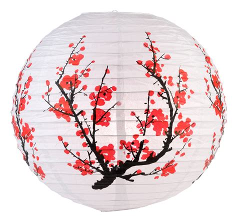 Mauve Home Decor by 14 Quot Japanese Plum Tree Paper Lantern