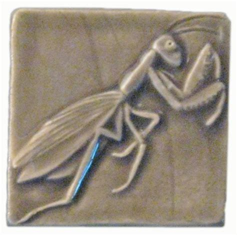 1 X3 Gray Ceramic Tile by Praying Mantis 3 Quot X3 Quot Ceramic Handmade Tile 3 Inch By 3