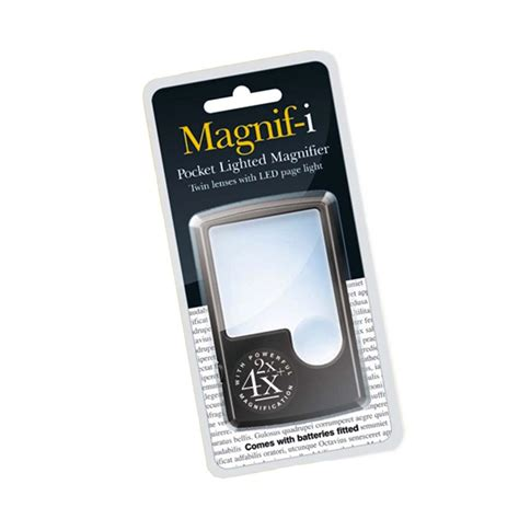 pocket magnifying glass with light magnif i pocket magnifier with light low prices