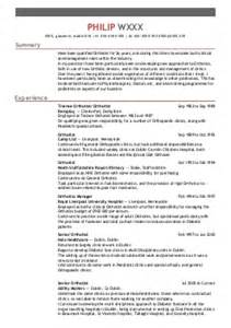 Curriculum Vitae For Physical Therapist by Curriculum Vitae Curriculum Vitae Occupational Therapist